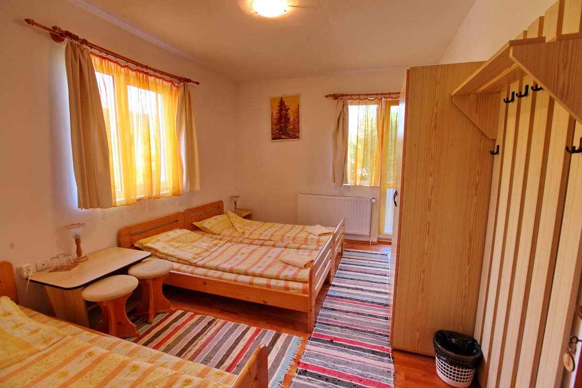 Szobaszám: 3. három személyes szoba